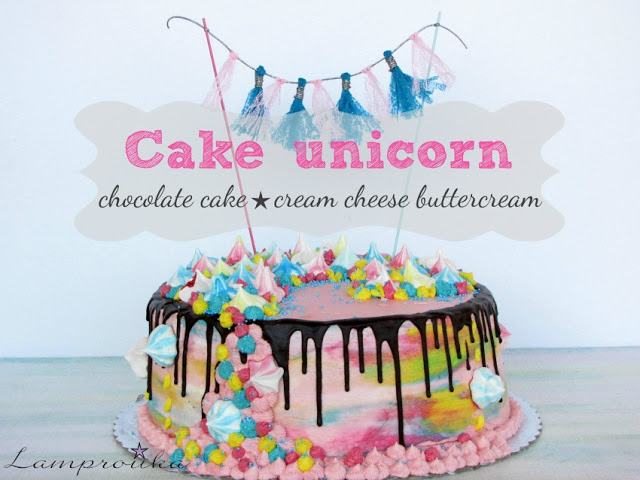 Τούρτα μονόκερος-unicorn.