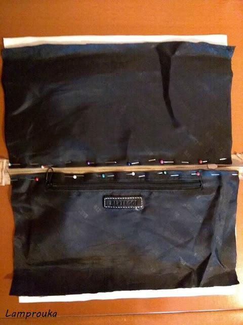 κατασκευή τσάντας σε στυλ boho