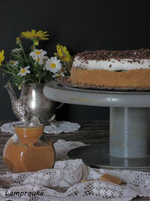 συνταγή για εύκολο μπανόφι με έτοιμο καραμελωμένο ζαχαρούχο
