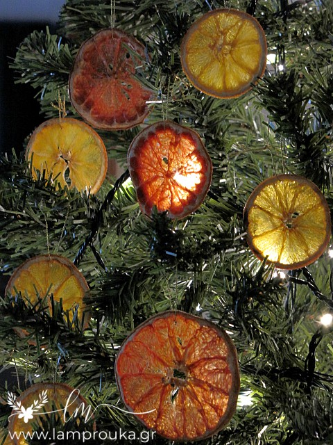 how to make dried fruit ornaments