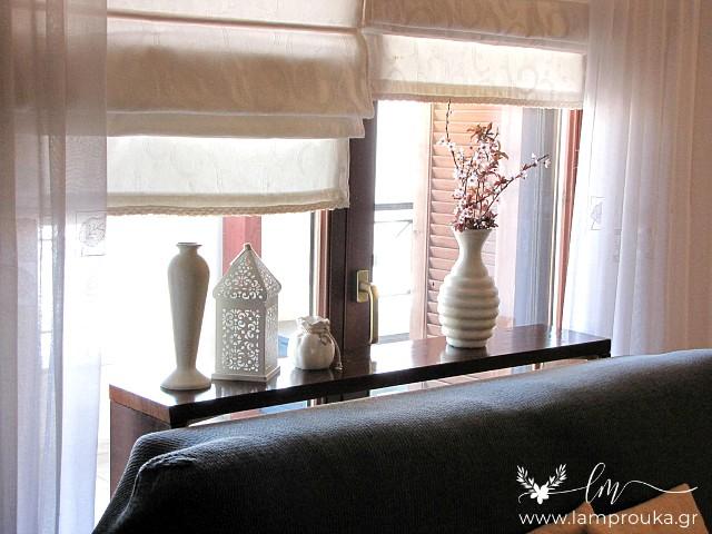 Πως να φτιάξεις κονσόλα-τραπέζι για διακόσμηση πίσω από καναπέ.