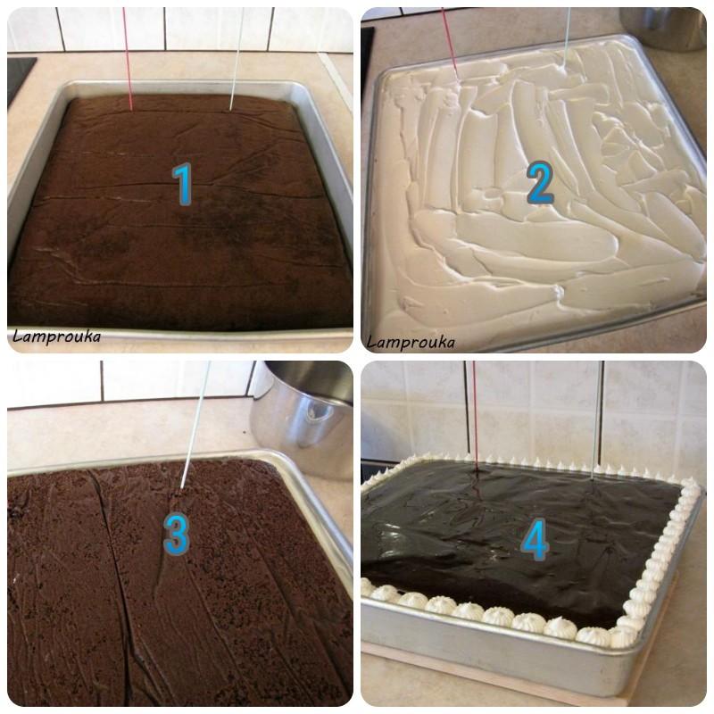 Πως να φτιάξετε την κατασκευή για την τούρτα antigravity