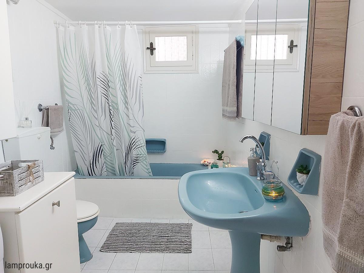 Ανακαίνιση και βάψιμο σε πλακάκια μπάνιου