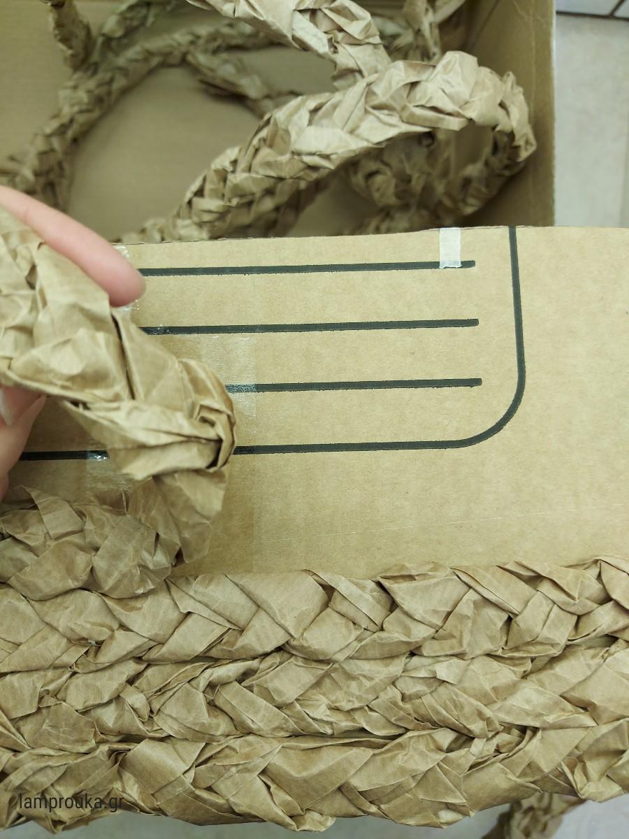 Καλάθι από χαρτόκουτο