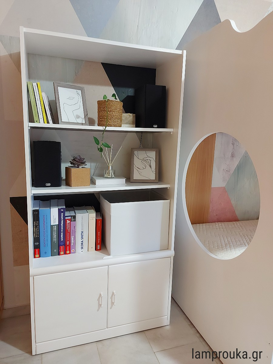 Ανανέωση στο υπνοδωμάτιο, διακόσμηση και μεταμόρφωση βιβλιοθήκης