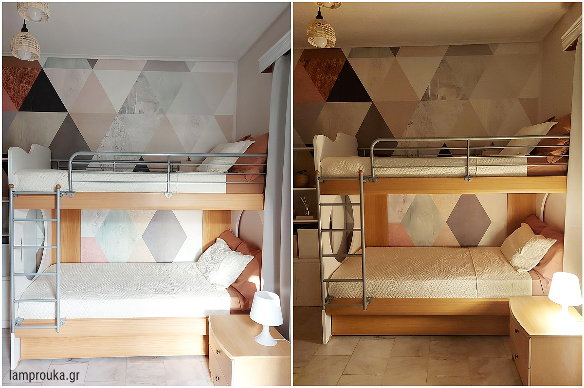 Υπνοδωμάτιο, ανανέωση και διακόσμηση την μέρα και την νύχτα