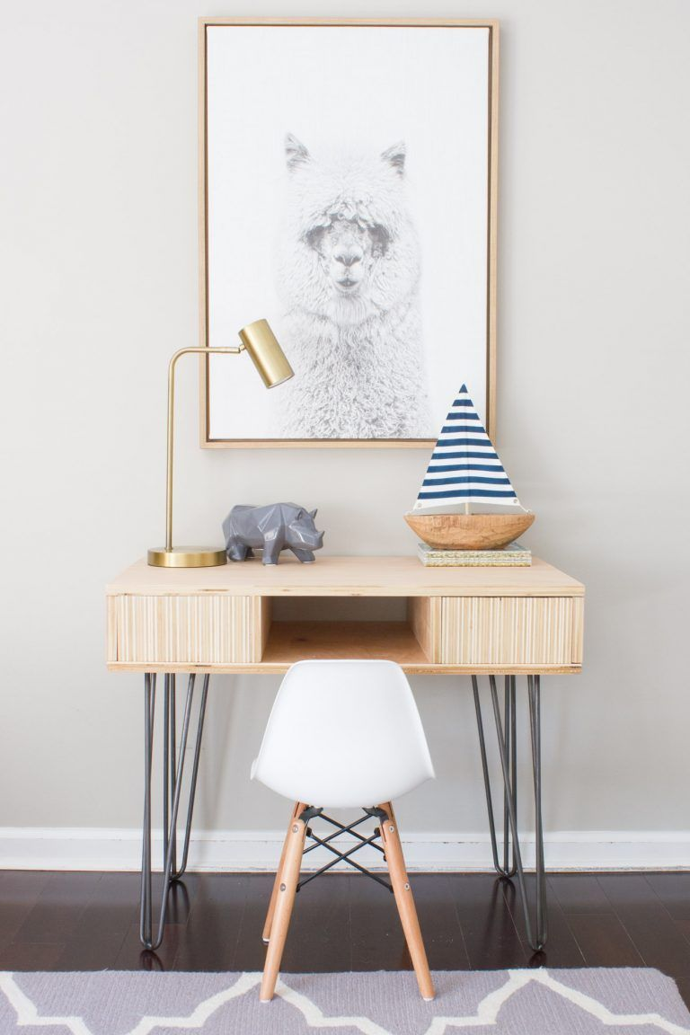 10 DIY ιδέες γραφείου - Κατασκευή γραφείου από ξύλο