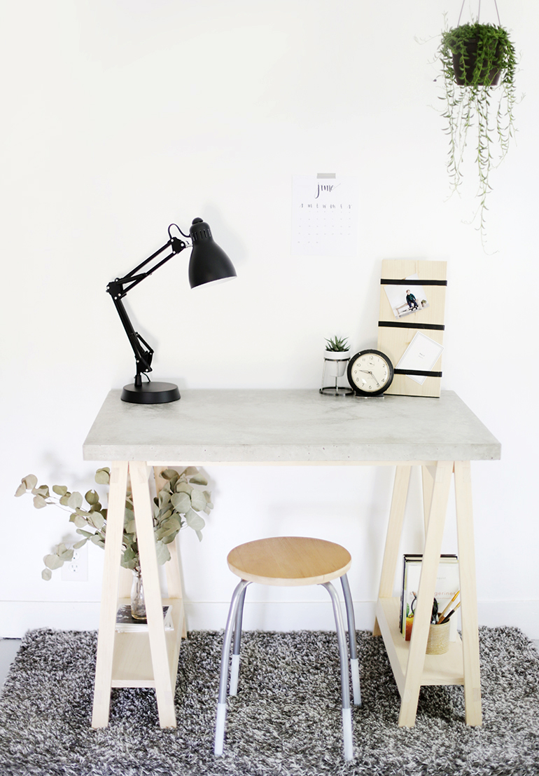10 DIY ιδέες κατασκευή γραφείου