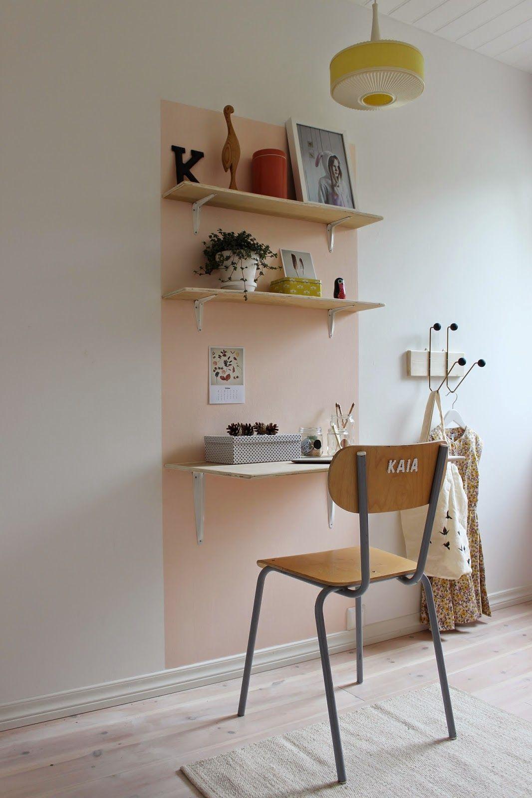 Γραφείο ράφι στον τοίχο